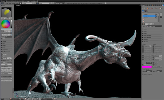 Blender programa de creaci n 3d open source norender for Programas de 3d para arquitectos